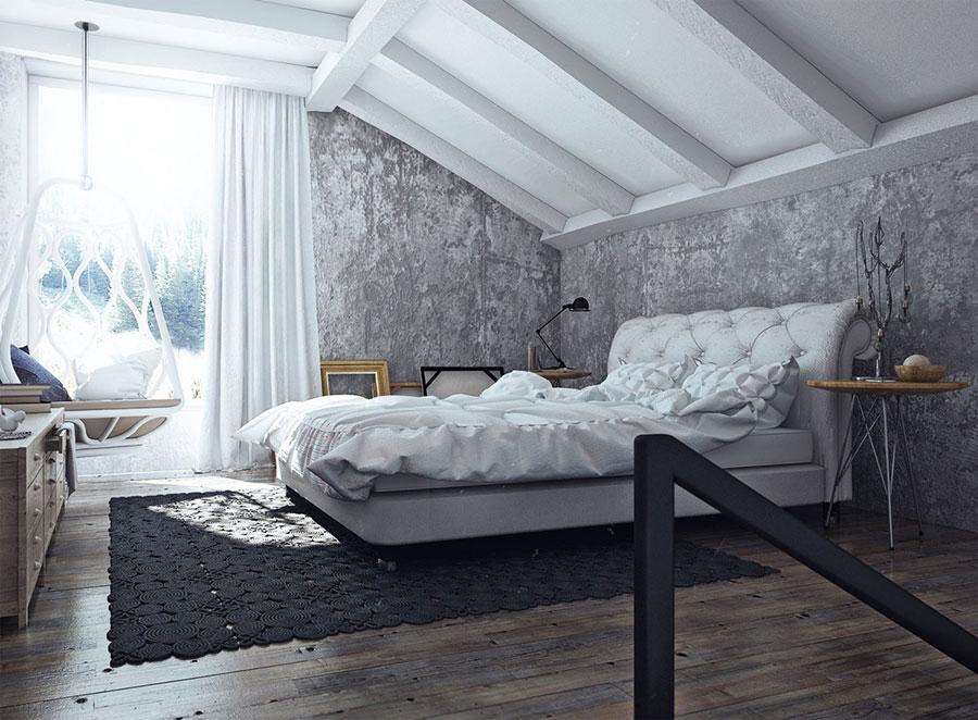 Idee di arredamento per una camera da letto rustica n.28