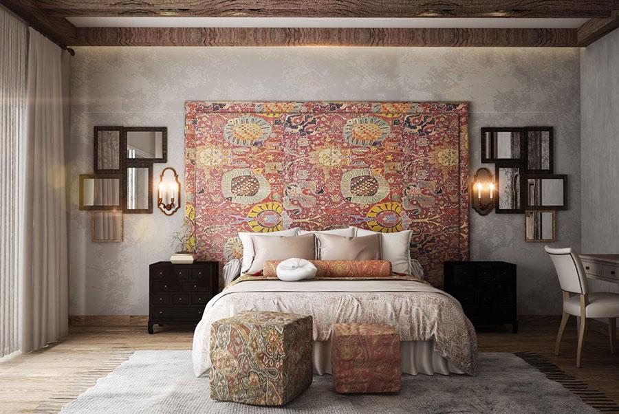 Idee di arredamento per una camera da letto rustica n.29
