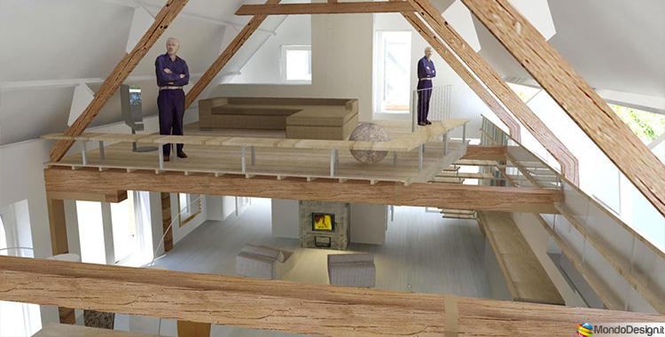 Costruire un soppalco fai da te in legno metallo o - Soppalco in legno autoportante ...