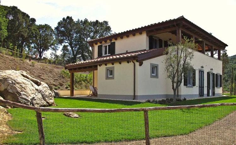 Casa in legno di HB Costruzioni