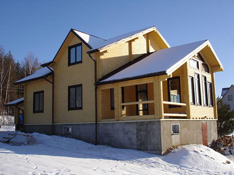 Casa in legno di Tricarico e Figli