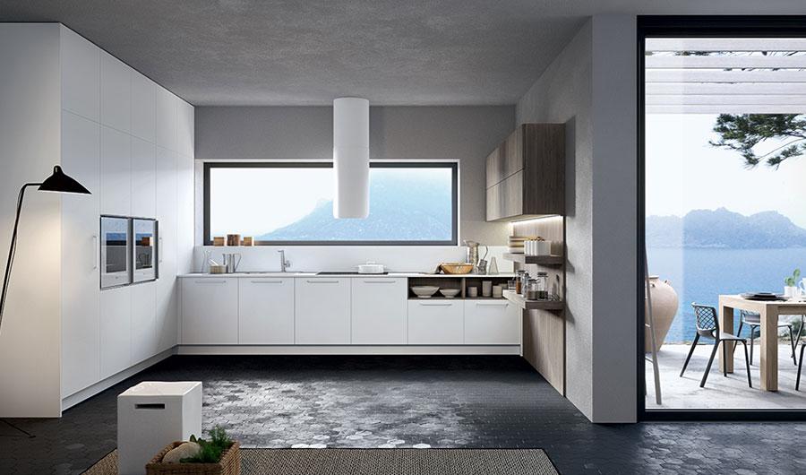 Modello di cucina lineare moderna di Arredo3 n.03