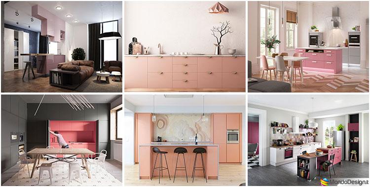 Cucina Rosa: 25 Idee di Design per un Arredamento Chic | MondoDesign.it