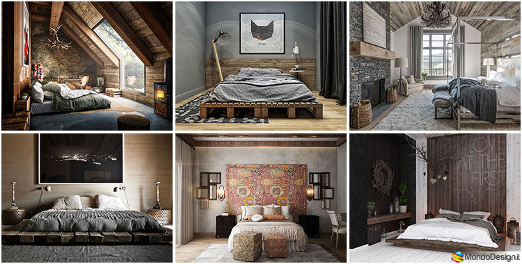 Camere da letto rustiche ecco 30 idee di arredamento - Stanze da letto rustiche ...