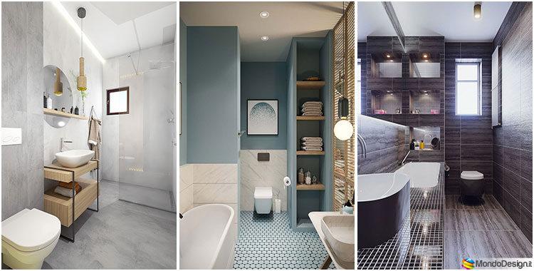 Colori pareti per bagno piccolo tante idee e suggerimenti originali - Bagni da ristrutturare idee ...