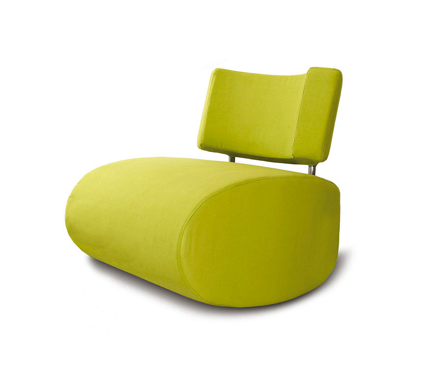 Sedia a dondolo di design modello Apollo Chair di Softline A/S