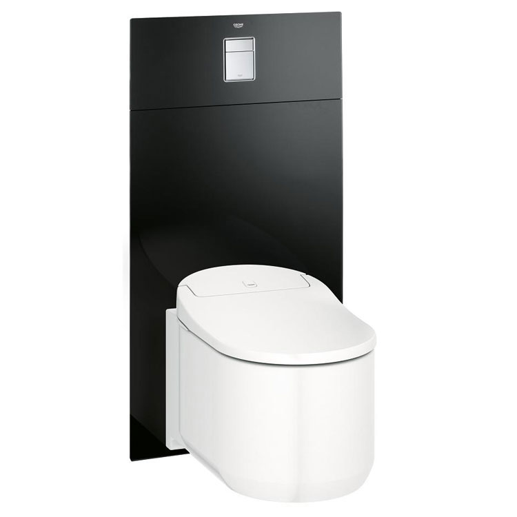 Modello di Wc con bidet integrato Grohe Sensia Arena Shower