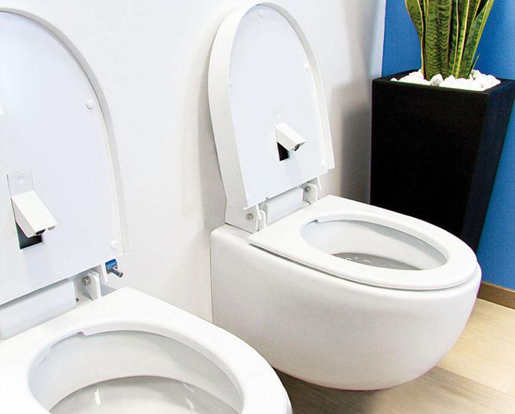 Modello di Wc con bidet Nuovo Easy WC