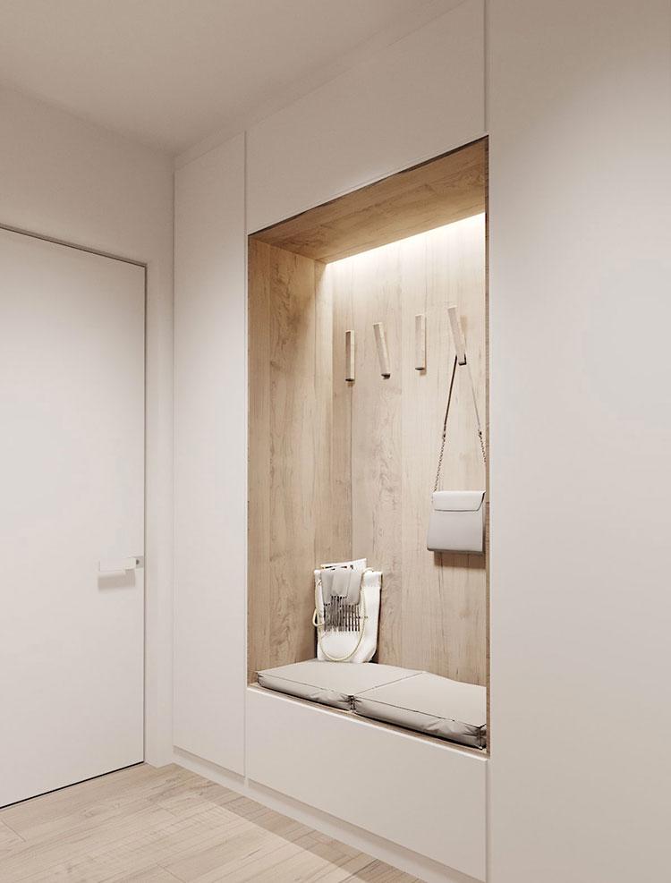 100 idee di arredamento per un ingresso moderno for Arredo ingresso design