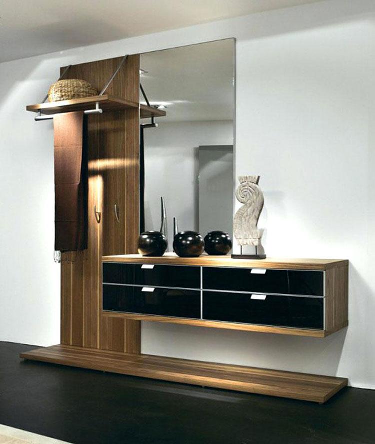 Cappottiere Moderne.100 Idee Di Arredamento Per Un Ingresso Moderno Mondodesign It