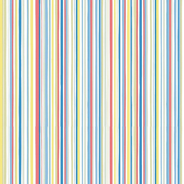 Modello di carta da parati a righe multicolore n.02