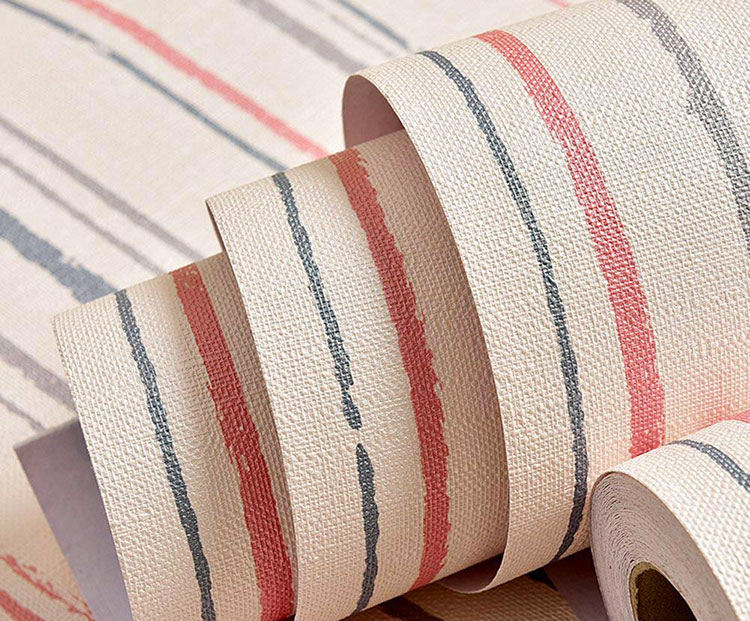 Carta Da Parati A Righe Beige : Carta da parati a righe: 35 modelli in vendita online mondodesign.it