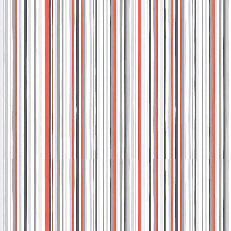 Modello di carta da parati a righe multicolore n.04