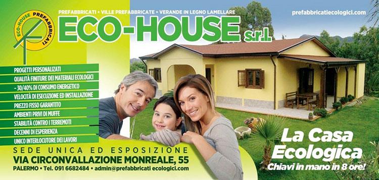 Casa in legno di Eco-House