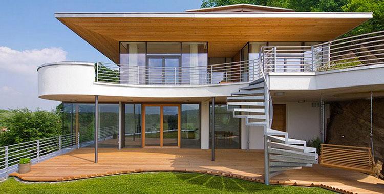 Casa in legno di LG
