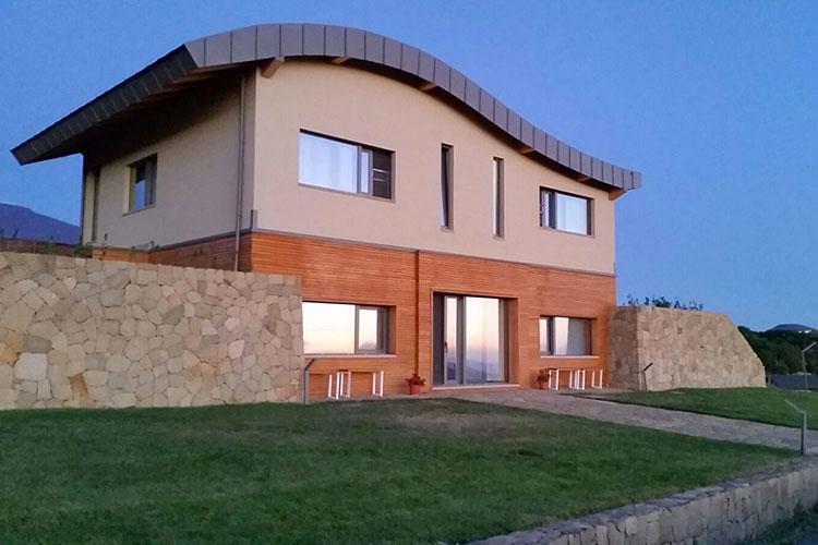 Casa in legno di Strutture in legno Martelli