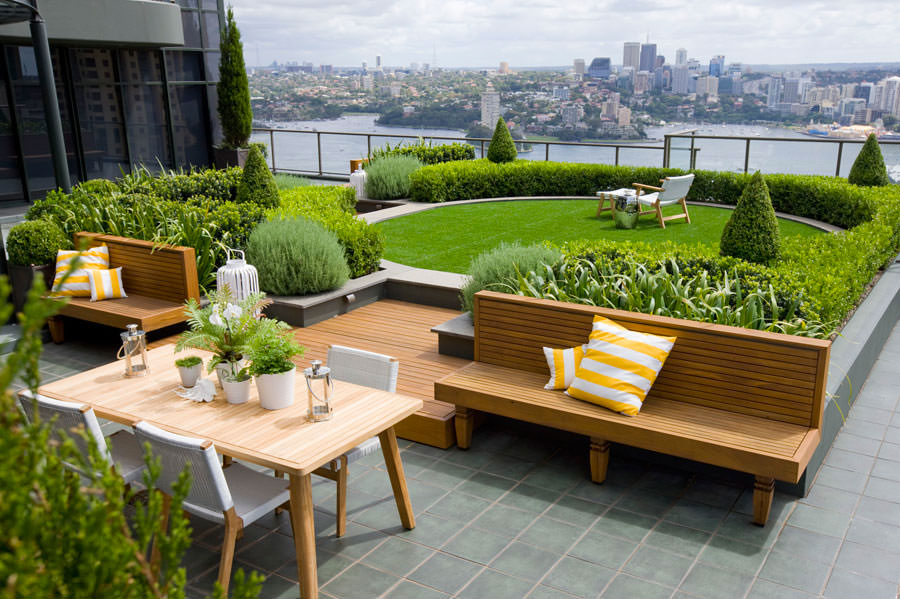 Idee per creare un giardino in terrazzo n.01