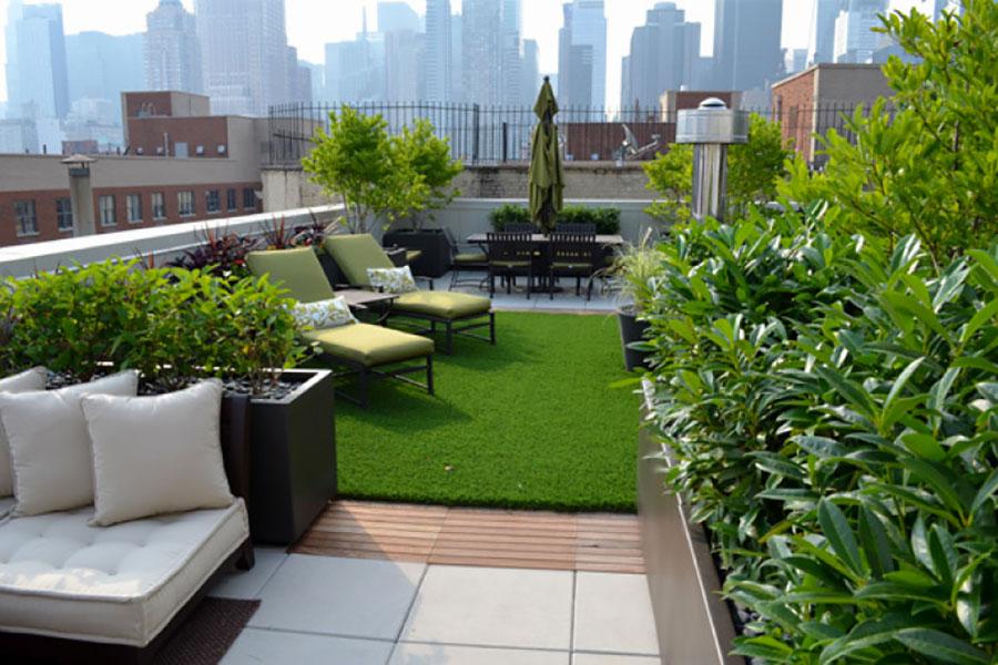 Idee per creare un giardino in terrazzo n.02