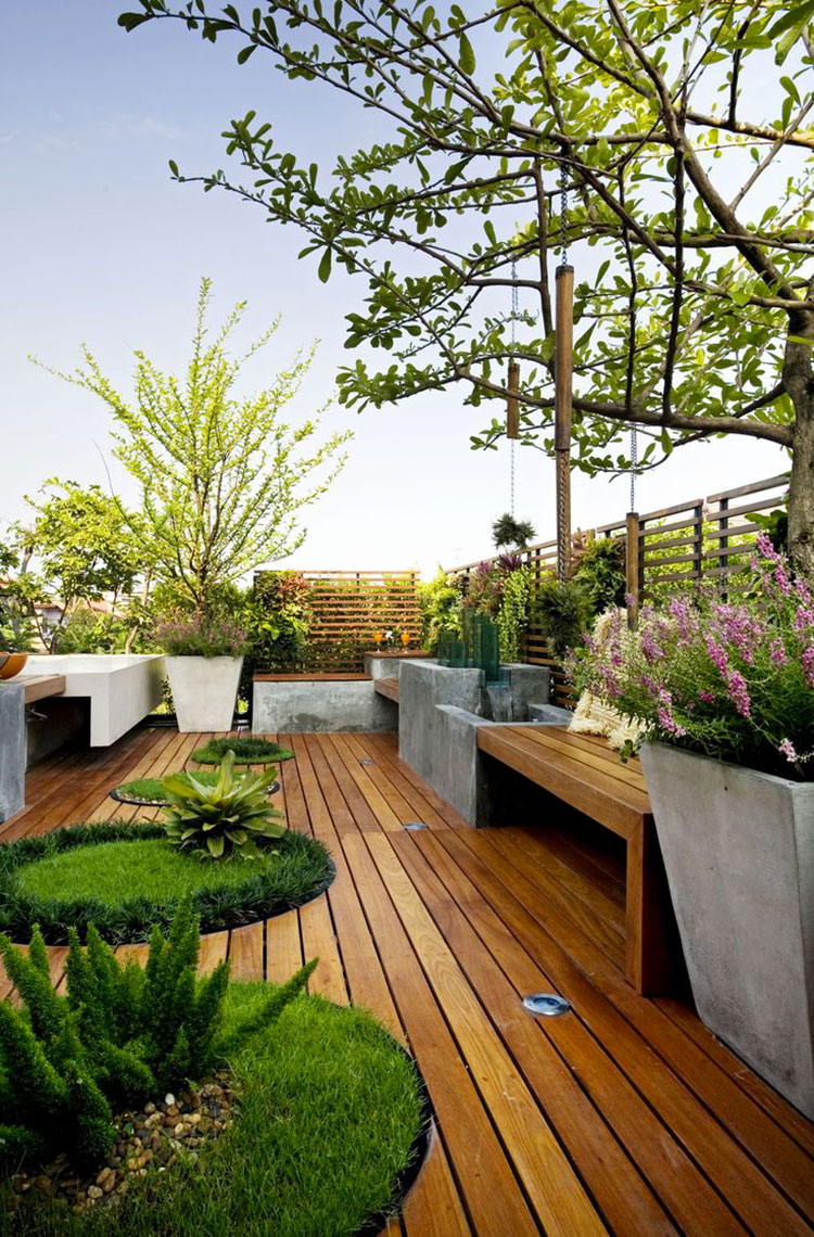 Idee per creare un giardino in terrazzo n.04