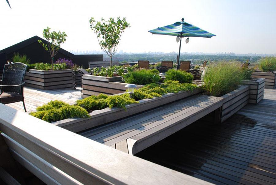 Idee per creare un giardino in terrazzo n.06
