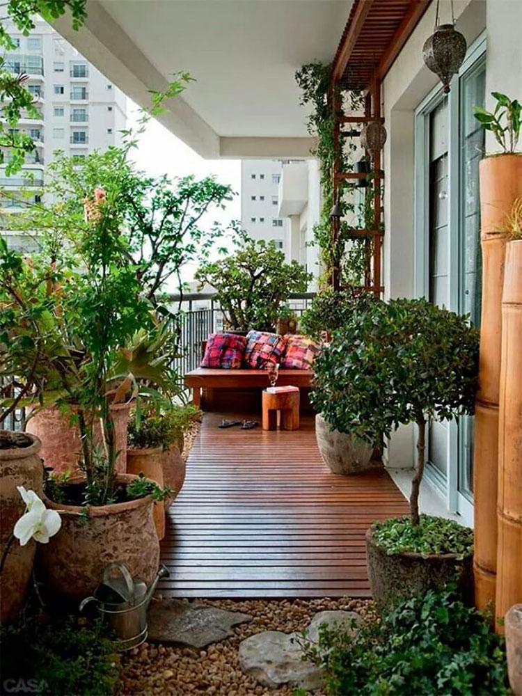 Idee per creare un giardino in terrazzo n.10