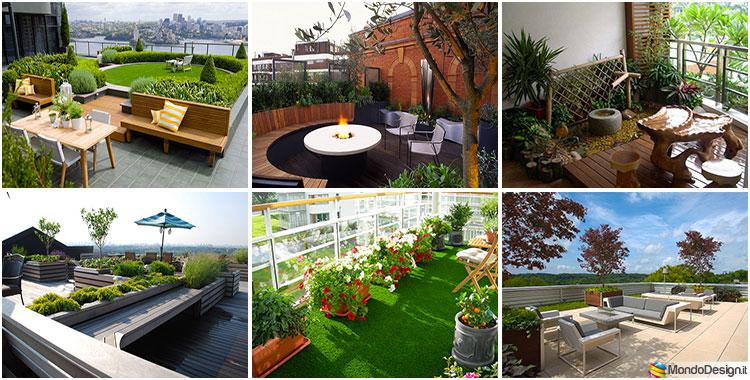 Giardino in terrazzo come creare uno spazio verde pensile - Giardino pensile terrazzo ...