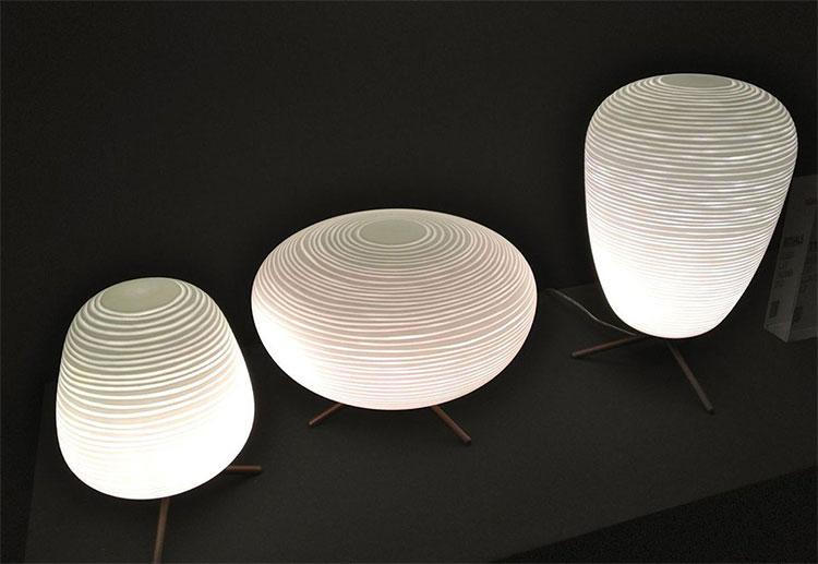 Modello di lampada da comodino di Design di Foscarini 01