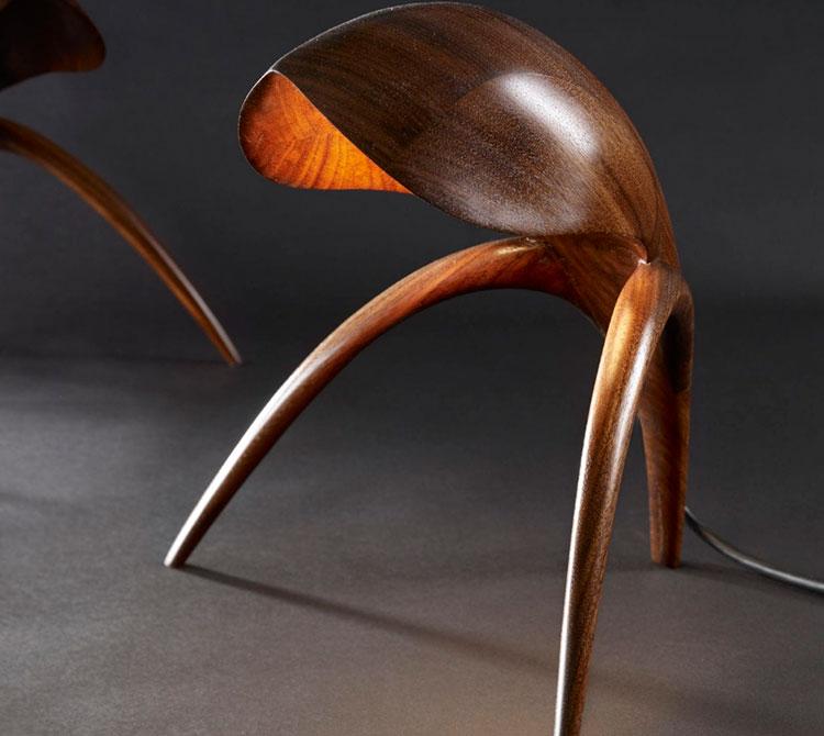 Modello di lampada da comodino di Design di Gildas Berthelot