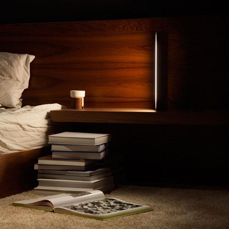 Modello di lampada da comodino di Design di Tunto 02