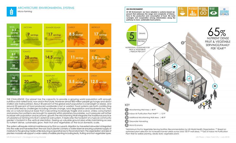 Micro fattoria della casa in legno autosufficiente ed ecologica