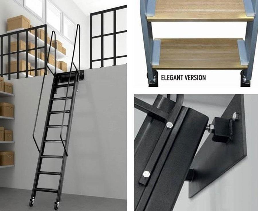 Scale Per Soppalchi Tante Idee E Soluzioni Di Design Mondodesign It