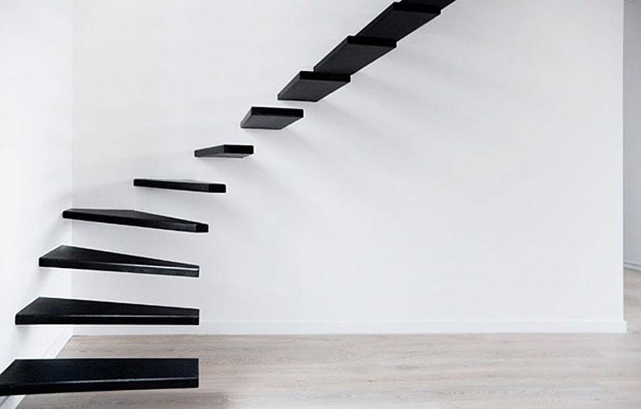Modello di scala di design per soppalco n.13