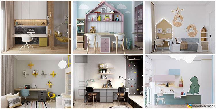 Scrivanie Per Camerette 35 Idee Originali Per Langolo Studio Dei