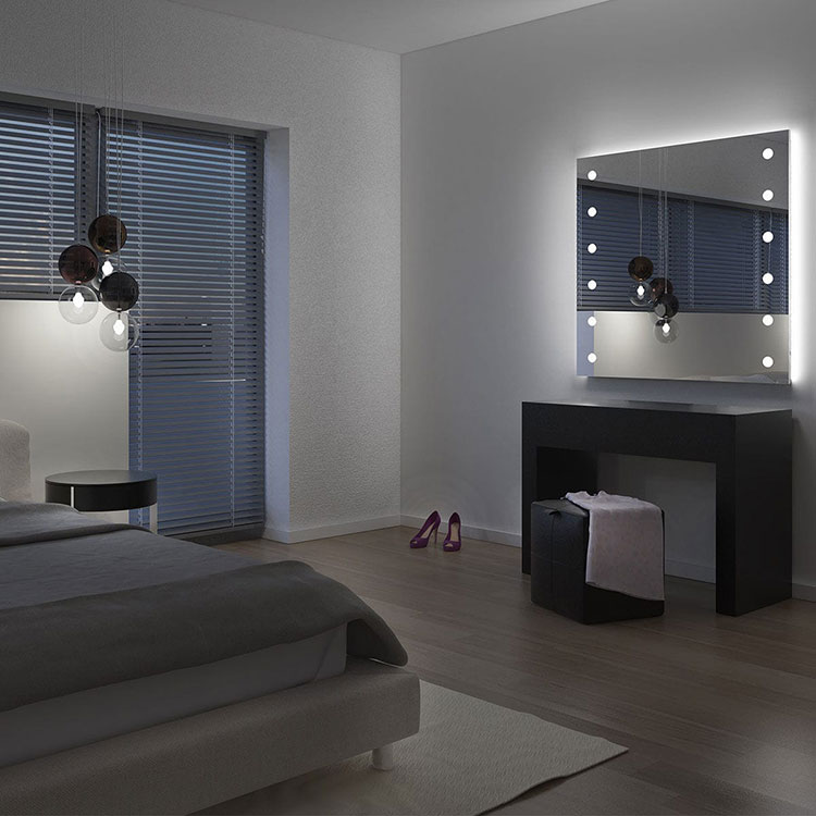Specchi per camera da letto ecco 30 modelli di design - Specchi particolari per camera da letto ...