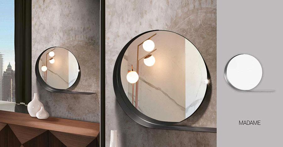 Modello di specchio per camera da letto di design n.05