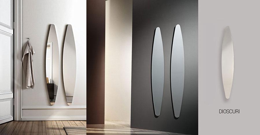 Modello di specchio per camera da letto di design n.06