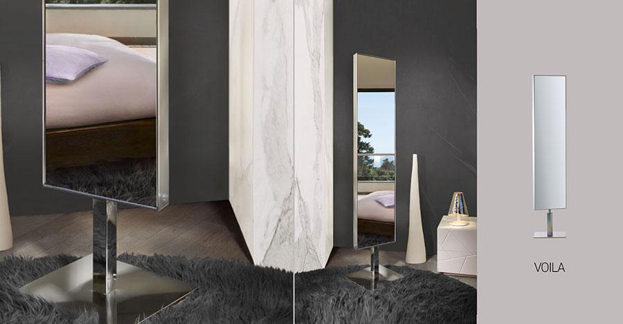 Modello di specchio per camera da letto di design n.07