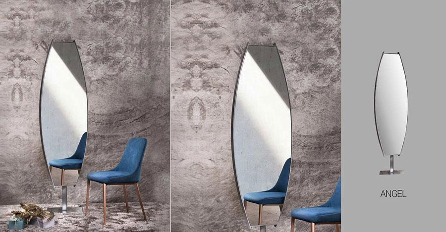 Modello di specchio per camera da letto di design n.08