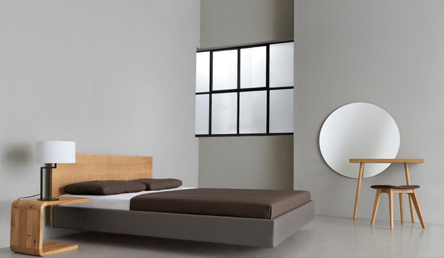 Modello di specchio per camera da letto di design n.09