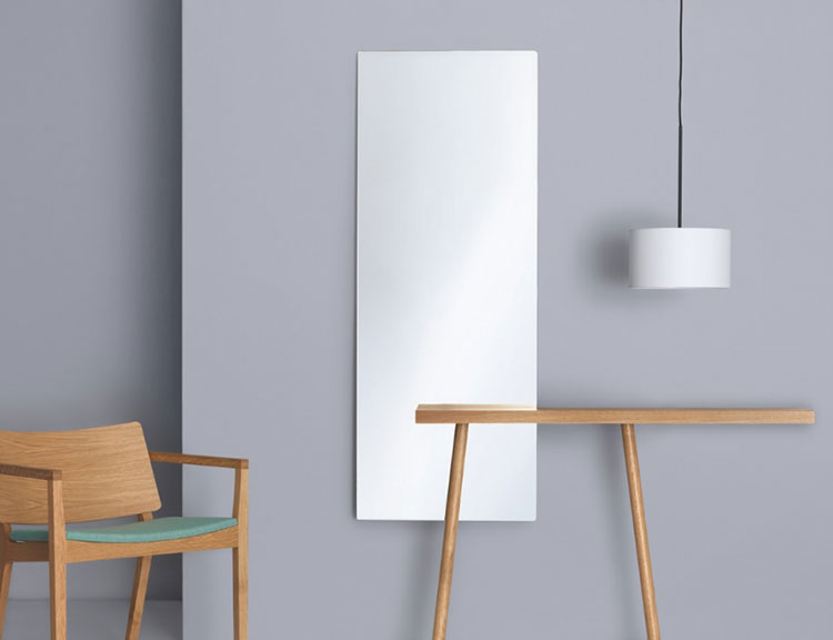 Modello di specchio per camera da letto di design n.10