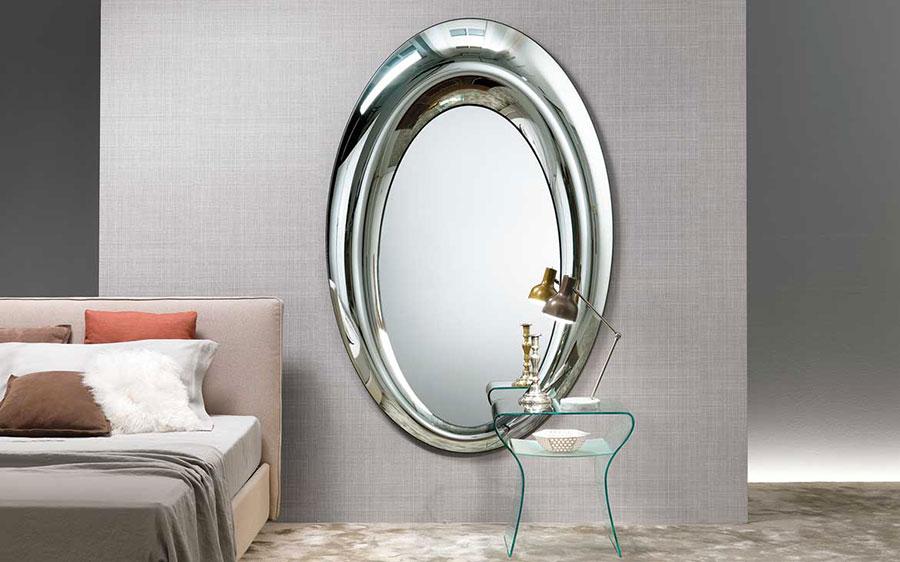 Modello di specchio per camera da letto di design n.12