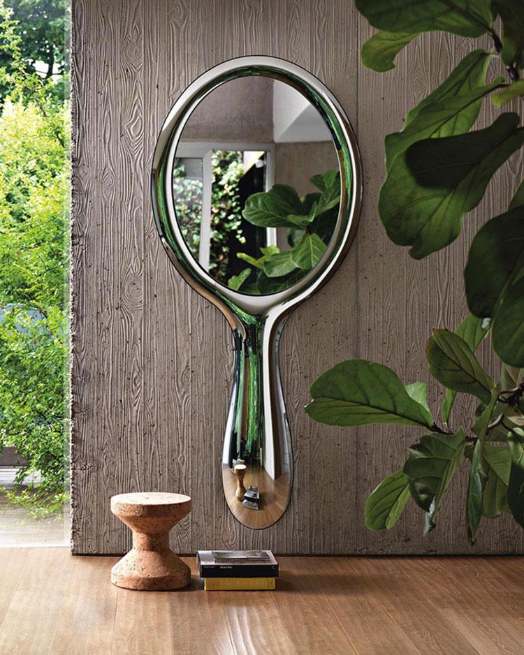 Modello di specchio per camera da letto di design n.16