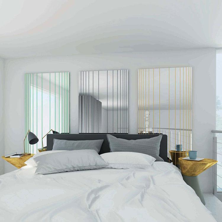 Modello di specchio per camera da letto di design n.19