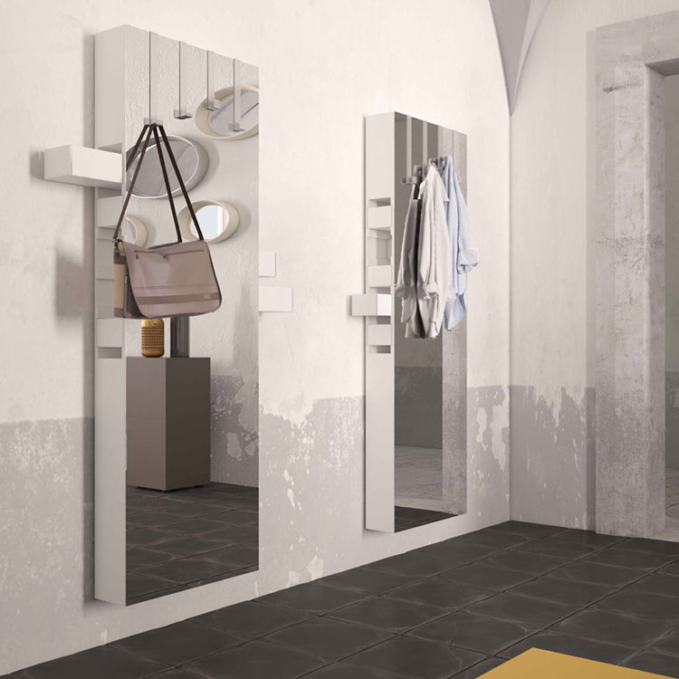 Modello di specchio per camera da letto di design n.20