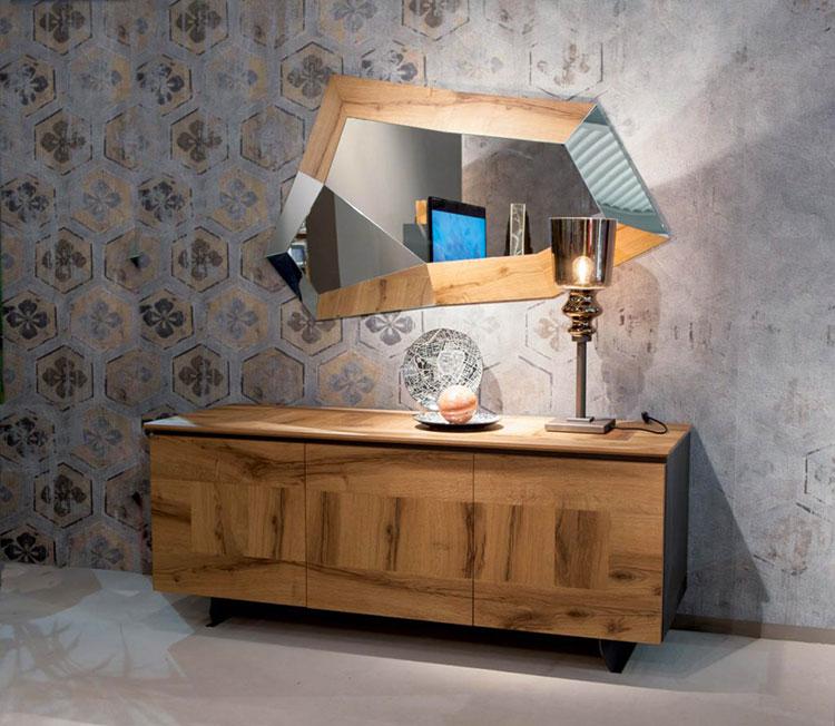 Specchi per camera da letto ecco 30 modelli di design - Specchio ovale camera da letto ...
