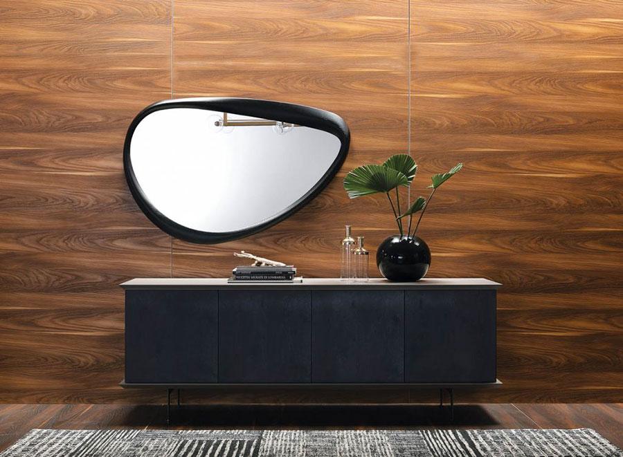Modello di specchio per camera da letto di design n.29