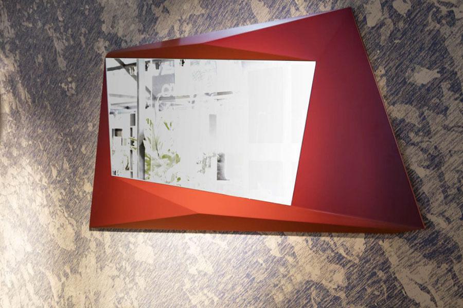 Modello di specchio per camera da letto di design n.30