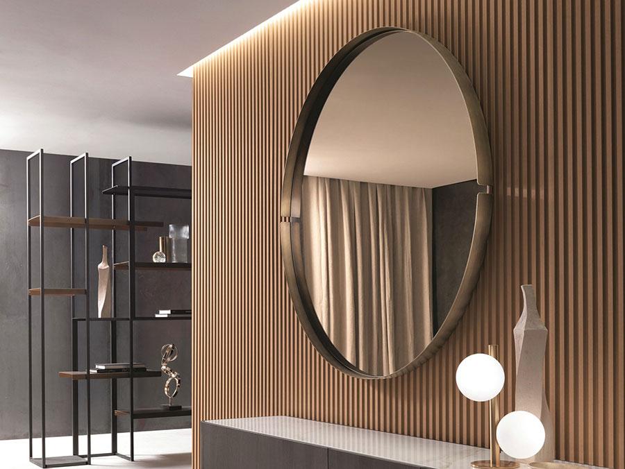 Modello di specchio per comò per camera da letto n.01
