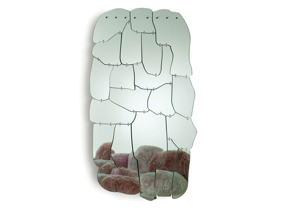 Modello di specchio per comò per camera da letto n.02