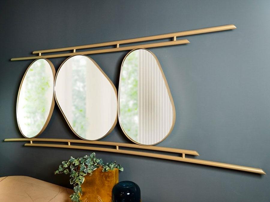 Modello di specchio per comò per camera da letto n.08